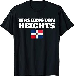 Washington Heights Dominican Flag New York Gift T-Shirt
