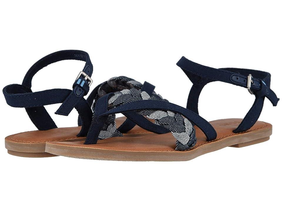 ab9d64f3e TOMS Lexie (Navy Denim Chambray) Women s Sandals
