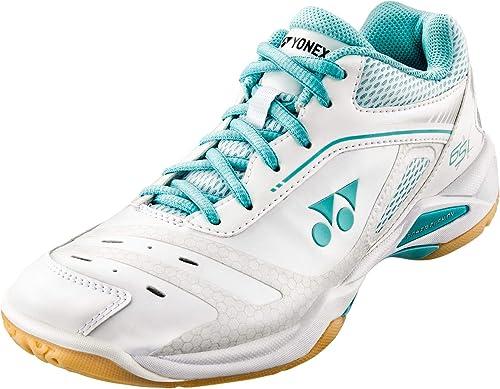 Yonex - Hauszapatos de Squash y bádminton de Sintético para mujer blancoo Mint