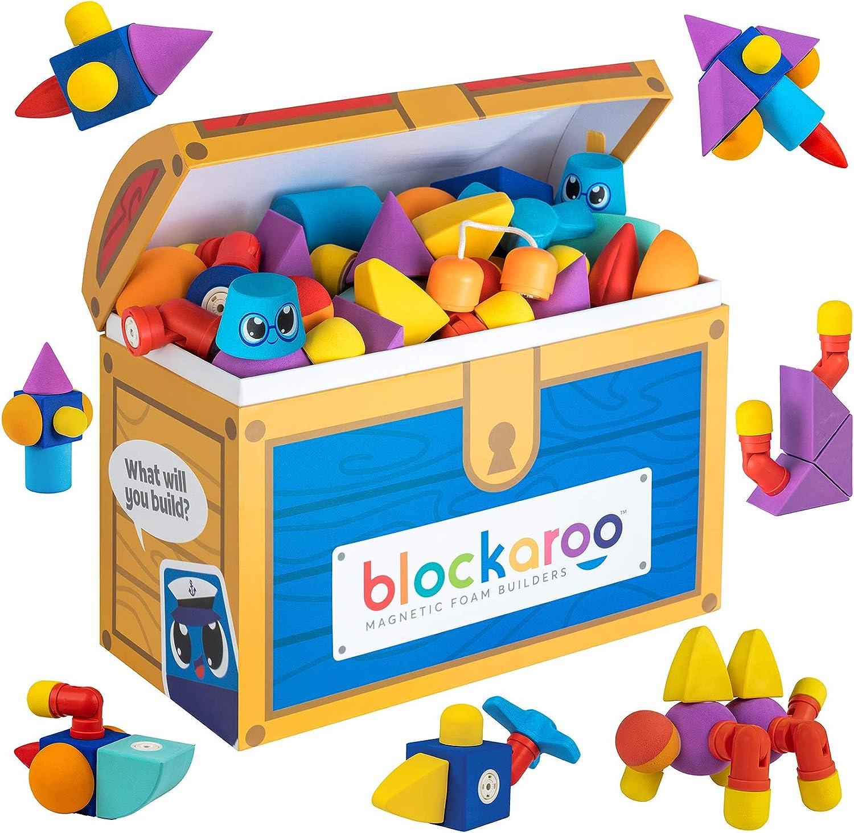 Blockaroo Magnetic Foam Quality inspection Sale Special Price Building Blocks – To STEM Preschool