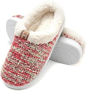 Zapatillas de Casa de Mujer Invierno - Zapatillas Casa Ultraligero Cómodo y Antideslizante, Zapatilla de Estar por Casa pa...
