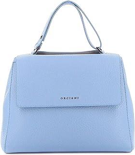 Luxury Fashion   Orciani Womens BT2006SOFTORTENSIA Light Blue Handbag   Spring Summer 20
