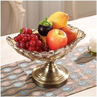 Plateau de fruits, verre de fruits Assiette de fruits Pot Fruit Basket Party Platter ServingTrays □ Parti Plateaux de 12.5...