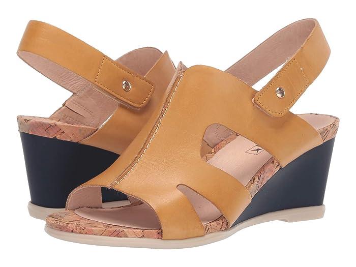 60s Shoes, Boots Pikolinos Vigo W3R-1676 Mostaza Womens Shoes $149.95 AT vintagedancer.com