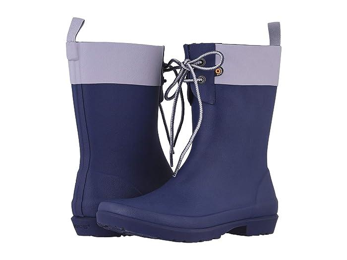 Bogs  Flora 2-Eye Boot (Indigo) Womens Rain Boots