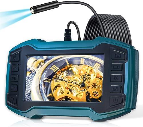 "Borescope Inspection Camera, LONOVE Industrial Endoscope Camera 1080P 4.5"" IPS Screen w/ IP67 Waterproof Snake Camera..."