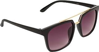 Eccellente UV Protected Unisex Wayfarer Sunglasses (PNT11, Black)