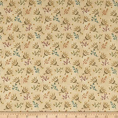 Henry Glass & Co. Henry Glass Spiced 108'' Quilt Back Seaweed Beige, Fabric by the Yard