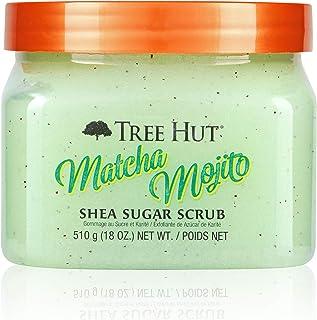 Tree Hut Shea Sugar Scrub Matcha Mojito, 18oz, Ultra Hydrating & Exfoliating Scrub for Nourishing Essential Body Care
