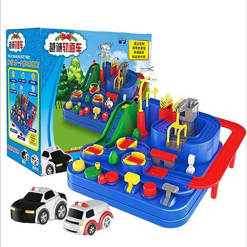 WeißZ Kinderpuzzle Spielzeug-Auto Abenteuer durch Spielzeug gebrochen