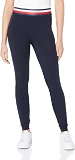 TOMMY HILFIGER Women's Signature Tape Waistband Leggings