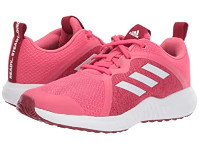 adidas Kids FortaRun X (Little Kid/Big Kid) (Pink/White/Maroon) Girls Shoes
