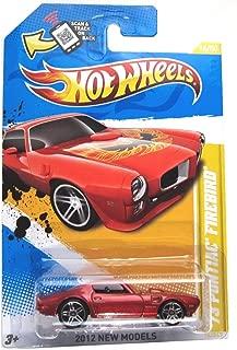 Hot Wheels 2012, '73 Pontiac Firebird RED, 2012 new models, 16/247. 1:64 Scale.