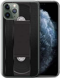 eSwish Gel TPU Phone Case/Cover for Apple iPhone 11 Pro/VHS Cassette Videotape Design/Retro Tech Collection