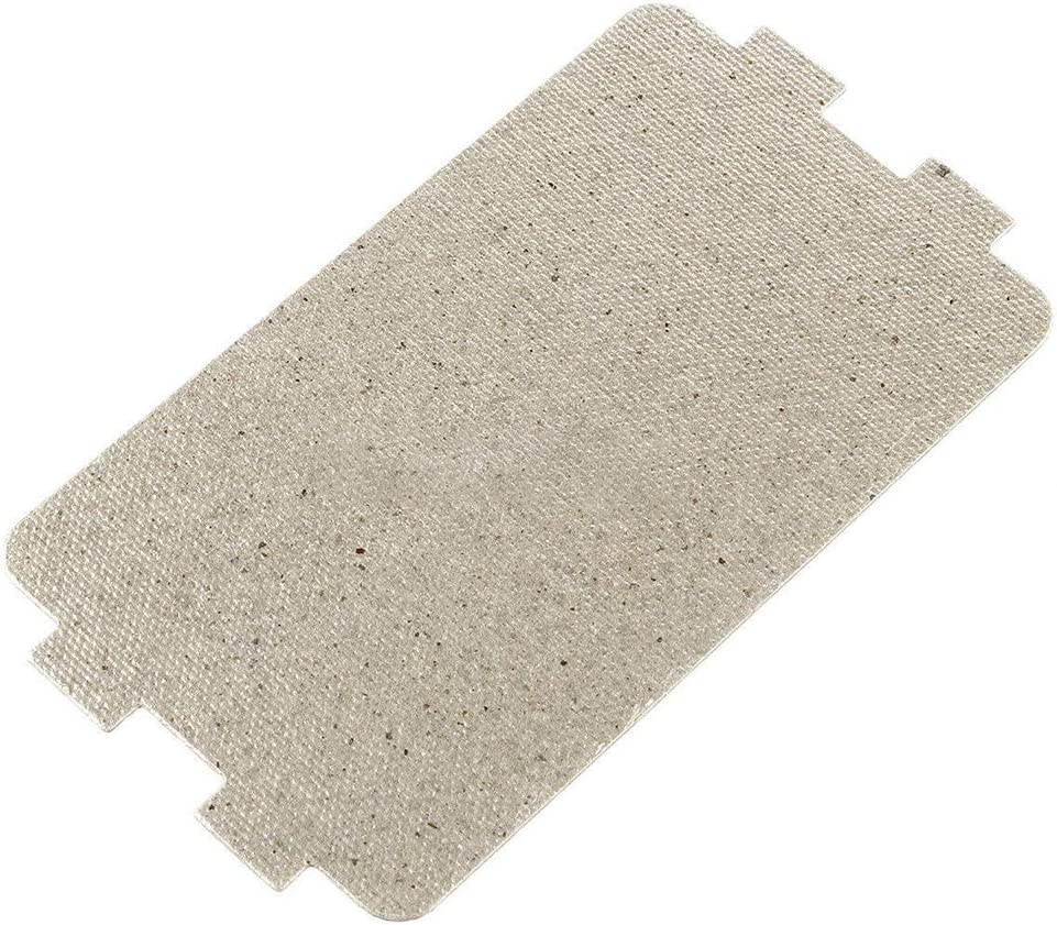 Urstory1 5 piezas de cubierta de guía de onda para horno de microondas, placa de mica, tapa gruesa para horno microondas (10,7 x 6,4 cm)