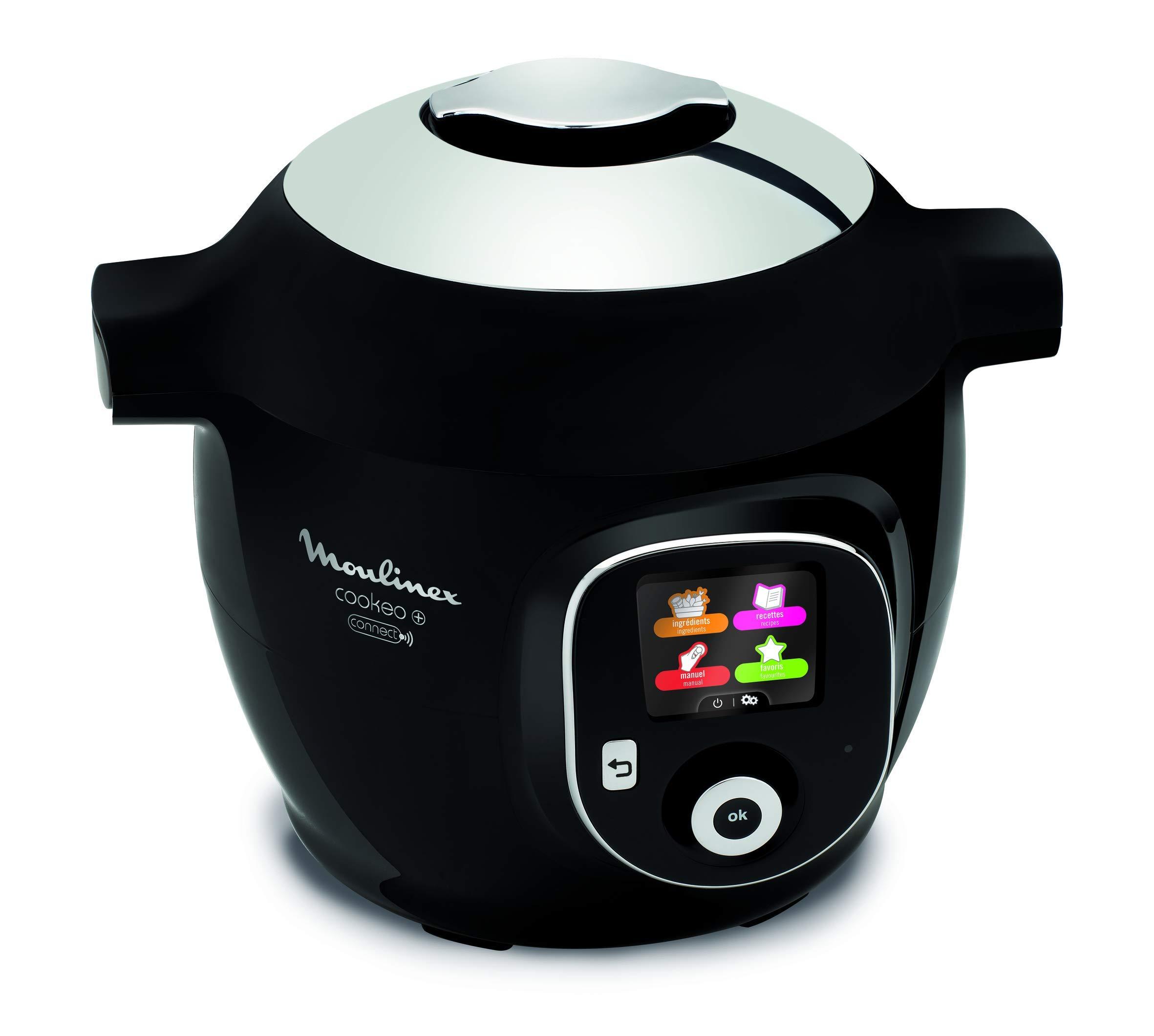 Moulinex Cookeo + Connect olla multi-cocción 6 L 1200 W Negro ...