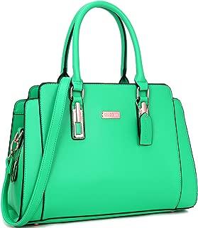 Dasein Women Fashion Handbag Top Handle Satchel Shoulder Bag Tote Purse for Work