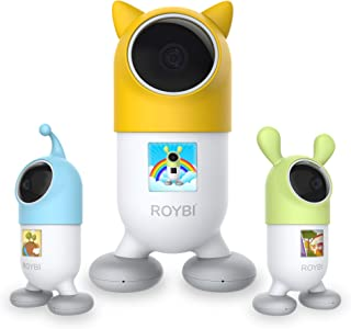 ROYBI Robot | The AI Smart Educational Robot for Kids Aged 3–7 Years Old | STEM Learning Toy with 500+ Interactive Lesson...
