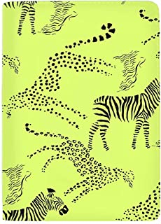 RFID Passport Holder Cover Traveling Passport Case Savanna Animals