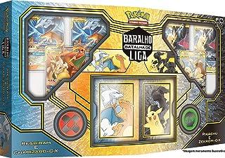 Batalha de Liga Pokémon Pikachu e Zekrom & Charizard e Reshiram