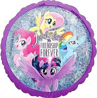 My Little Pony Friendship Adventure Hologram 46cm Foil Balloon One Size
