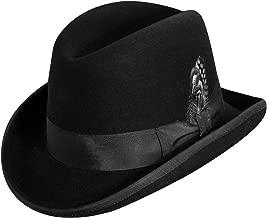 Epoch hats Classico Men's Wool Felt Homburg Hat
