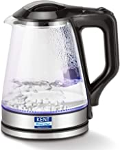 Kent 16023 1500-Watt Electric Kettle (Transparent)