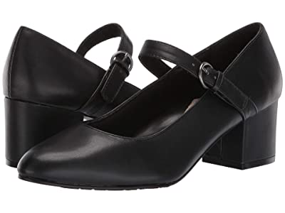 Soft Style Dustie (Black Smooth) Women