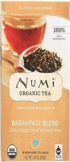 Numi, Tea Breakfast Blend Organic Whole Trade Guarantee, 18 Count