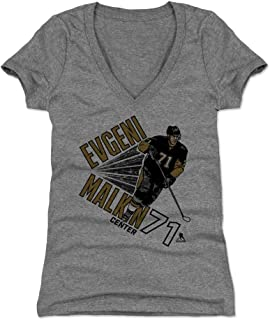 500 LEVEL Evgeni Malkin Women's Shirt - Pittsburgh Hockey Shirt for Women - Evgeni Malkin Point
