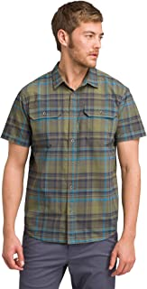 prAna Men's Cayman Plaid Short Sleeve