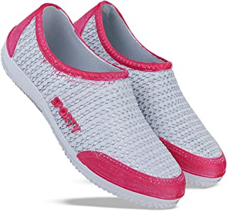 SWIGGY Casual Shoes, Outdoor Boots,Best Rates, Canvas Shoes,Sneakers Shoes, Loafers Shoes, Belleis, Best Rates,Light Weight,Waterpeoof, Comfortable for Women's/Girls's (Pink-2211)
