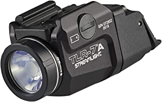 Streamlight 69424 TLR-7A Flex Low-Profile Rail-Mounted Tactical Light, Black