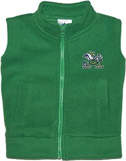 Creative Knitwear University of Notre Dame Fighting Irish Baby and Toddler Polar Fleece Vest