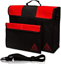 Flamsla Fireproof Safe Bags - Best 2pc Set of XL LARGE Fireproof Document Bags (15