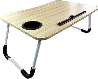 SEAFON Mesa Soporte para Laptop, Mesa para Cama (Madera Clar