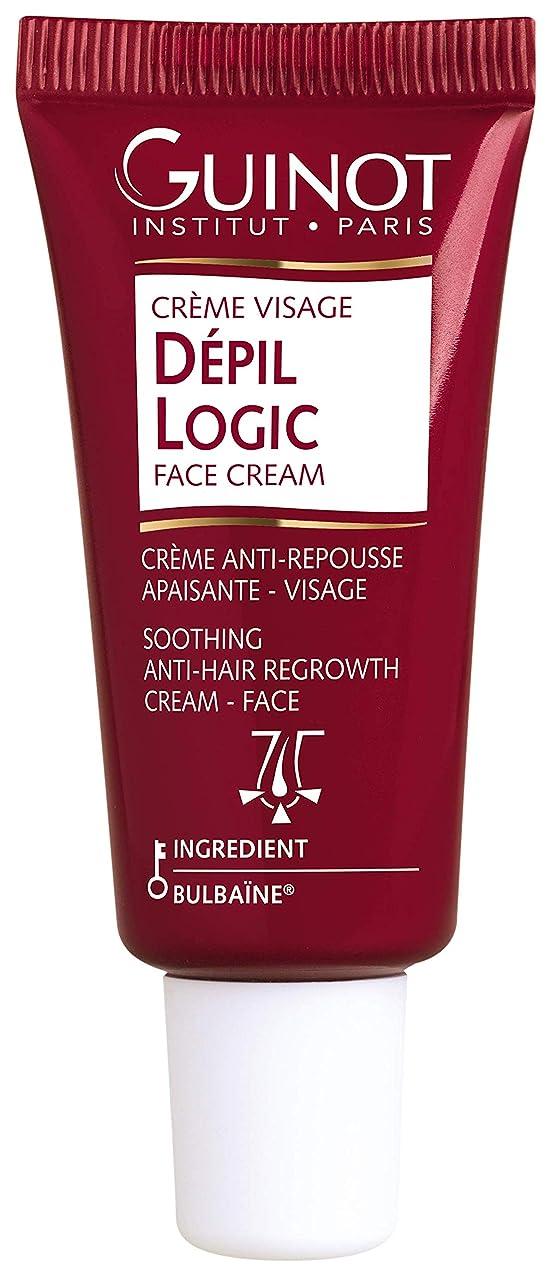 味付けキャベツ優先権ギノー Depil Logic Anti-Hair Regrowth Face Cream 15ml/0.44oz並行輸入品