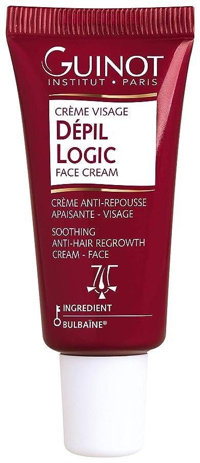 単位ロードブロッキング刺繍ギノー Depil Logic Anti-Hair Regrowth Face Cream 15ml/0.44oz並行輸入品