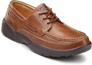 Dr. Comfort Men's Patrick Diabetic Boat Shoes