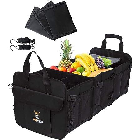 Tuff Viking Kofferraumtasche Kofferraum Organizer Mit Kofferraum Auslaufsicher Isolierbeutel Kofferraum Organizer Kofferraum Box Praktische Und Wasserdichte Verpackung 4 In 1 Kühltasche Large Auto