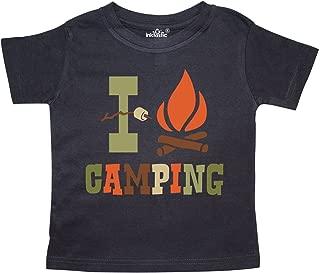 inktastic I Love Camping Toddler T-Shirt