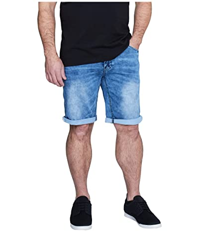 Johnny Bigg Big Tall Cuba Knit Shorts (Sky) Men