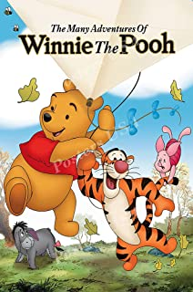 Posters USA Disney The Many Adventures of Winnie the Pooh Movie Poster GLOSSY FINISH - FIL099 (24