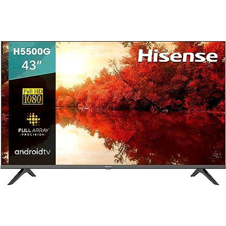 "Hisense 43"" H5500G Android TV con Control de Voz (43H5500G, 2020)"