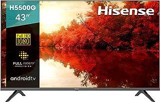 "Pantalla Hisense 43"" Full HD Android TV con control de voz 43H5500G (2020)"