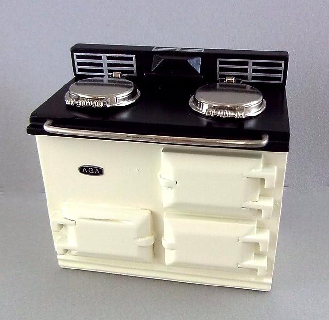 Puppenhaus Chrysnbon Altmodische Ofen Set 1:12 Modell Küche Set F-250