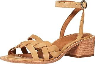 FRYE Lucia Strappy Braid Sandal womens Heeled Sandal