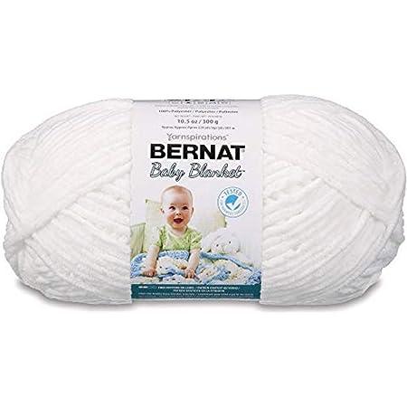 Bernat Baby Blanket Big Ball White