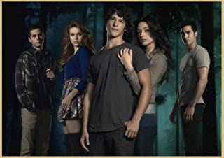 Canvas Poster Teen Wolf Posters Movie Wall Stickers Prints Clear Image Home Decoration Livingroom Bedroom Home Art 50 * 70...