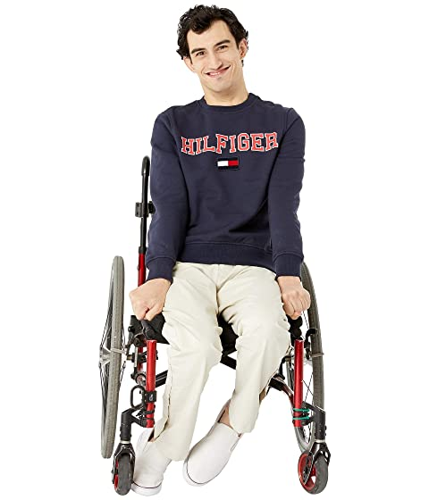 50801332595 Tommy Hilfiger Adaptive Sweatshirt with Magnetic Buttons at ...